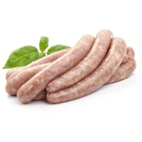 homemade bbq sausages 239995162